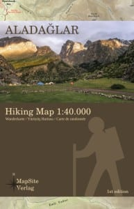 Aladaglar Hiking Map 1:50.000