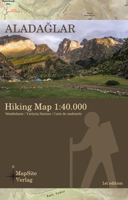 Aladaglar Hiking Map 1:50.000
