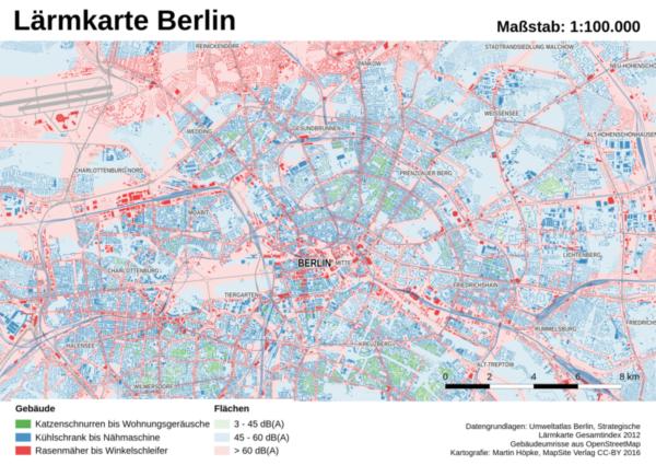Lärmkarte Berlin