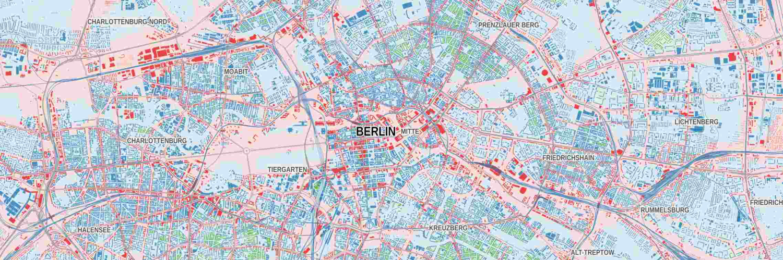 Strategische Lärmkarte Berlin