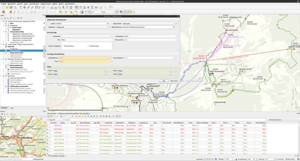 Naturpark Informations System (NIS) Version 1.0.1
